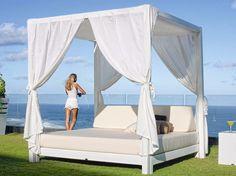 Double canopy garden bed ANIBAL - SKYLINE design