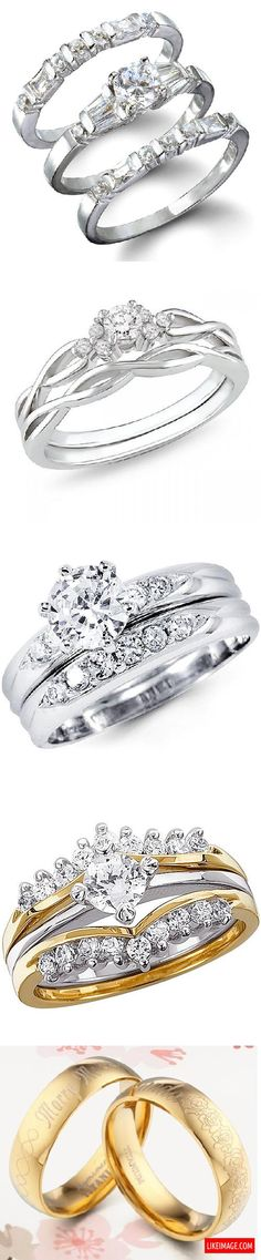 Wedding ring sets - 10 PHOTO!