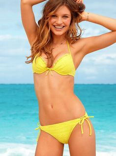 For swimsuits yellow secrets victoria bikini women