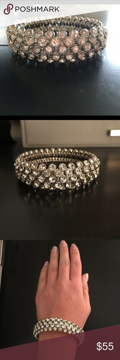Givenchy Crystal Bracelet Excellent condition - only worn once! Givenchy Jewelry Bracelets