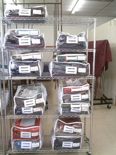 a good way to store your horses blankets!