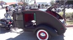 Pull Behind Motorcycle Trailer 25