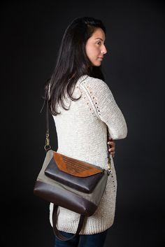 The Bendable Bag-Fold Circle Crafts, Art Object, Shoulder Bag, Winter, Fashion, Moda, Shoulder Bags, Fasion, Trendy Fashion