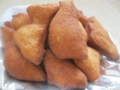 Mandazi ( East African donuts)...these include coconut and yeast.