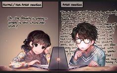 Looking at good arts by kawacy on DeviantArt