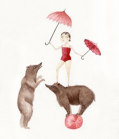 Bear Performers by Julianna Swaney