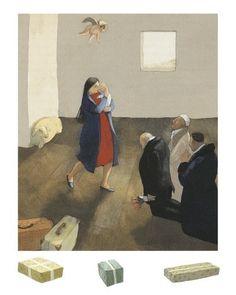 Lisbeth Zwerger Illustrator- How The Camel Got His Hump Rudyard Kipling.. https://i.pinimg.com/originals/e9/0c/75/e90c756be52131f4be71b3a8af7754f3.jpg
