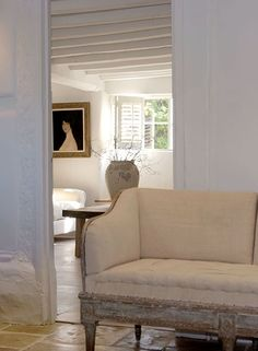 French antique furniture, art deco interior decoration, painted chests, mirrors and more from Anton & K Antique French Furniture, Antique Interior, French Interior, Swedish Interiors, Cottage Interiors, White Interiors, Rustic Interiors, Floor Design, House Design