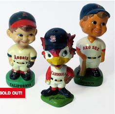 Vintage Baseball Bobble heads are awesome. You're welcome.