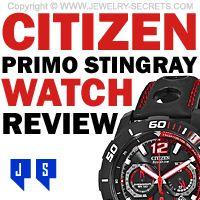 ►► CITIZEN PRIMO STINGRAY WATCH REVIEW ►► Jewelry Secrets