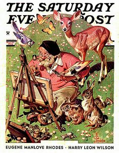Leyendecker and The Saturday Evening Post. - Norman Rockwell Museum - The Home for American Illustration Norman Rockwell Art, Norman Rockwell Paintings, American Illustration, Illustration Art, Caricatures, Jc Leyendecker, Saturday Evening Post, Vintage Magazines, Mail Art