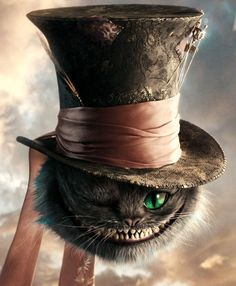 alice in wonderland, cheshire cat, we& all mad here, mad hatter& hat Alice Tattoo, Go Ask Alice, Chesire Cat, Cheshire Cat Tattoo, Alice Madness, Were All Mad Here, Adventures In Wonderland, Lewis Carroll, Through The Looking Glass