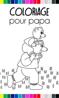 Coloriage petit ours brun automne a imprimer gratuit pob - Coloriage petit ours brun a imprimer ...