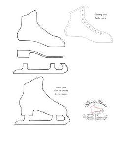 Figure Skate Template