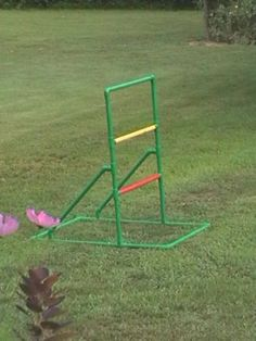 pvc pipe ladder ball. Find plans and supplies at pvcplans.com