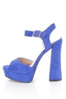 Blue Heels, Blue Shoes, Blue High Heels, Blue Pumps for Women Blue High Heels, Blue Pumps, Shoe Sale, Peep Toe, Shoes, Women, Style, Fashion, Swag
