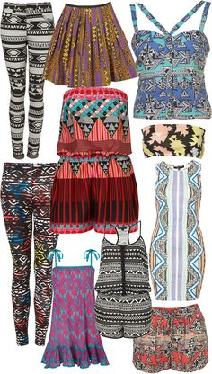 Aztec Influence, this is basically what my closet looks like !