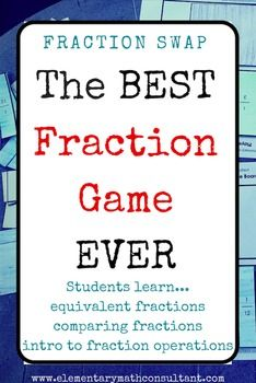 Hello teachers!This fraction game is a powerful tool in building concrete, thorough understanding of fractions. Included with this game is a detailed lesson plan, 3rd, 4th, and 4th grade Common Core standards, learning targets, and discussion questions.