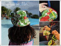 Ein Erdbeer-Sommerhut... #nähen #sewing #handarbeit #selfmade