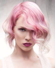 .pink hair