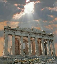 The Parthenon, Athens, Greece. Oh my, how beautiful.