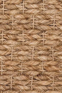 Leyte handwoven abaca rug in Nutmeg colorway, by Merida.