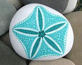 starfish painted on river rock - Google Search
