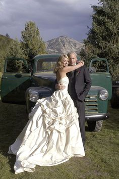 When actor Kevin Costner wed Christine Baumgartner they had reception at his 165 acre ranch in Aspen.  Celebs attending inc. Bruce Willis, Don Johnson, & Tim Allen.