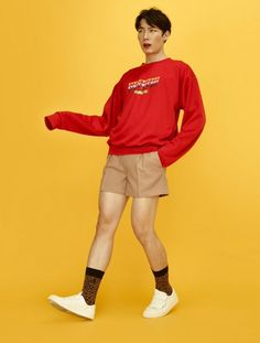 Human Poses Reference, Pose Reference Photo, Boys Day, Fashion Model Poses, Cool Poses, Poses References, Standing Poses, Character Outfits, Colorful Fashion