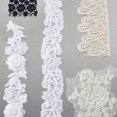 How to make lace moulds for gumpaste and fondant... oh this could have saved my life and my wallet many times!