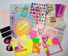 "Bible Journaling ""color my life"" Kit, bible art, bible journaling set, bible art, sticker, dilies, die cuts by rebecca sawatsky"
