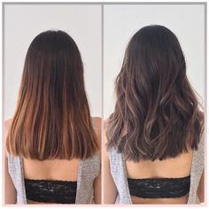 From a warm caramel balayage to a cool ashy balayage with a more textured haircut Ashy Balayage, Caramel Balayage, Medium Hair Styles, Curly Hair Styles, Textured Haircut, Medium Layered Hair, Hair Looks, Short Hair Cuts, Hair Inspiration