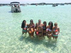 Crab Island Fun In The Sun Destin Florida Bachelorette Parties Mermaid Bridal Showers