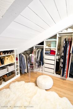 sarah m. dorsey designs: Master Bedroom Closet Reveal | Michaels Maker January Challenge