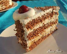Tort de ciocolata cu banane | Retete culinare cu Laura Sava
