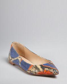 52829509991 Loeffler Randall Pointed Toe Flats - Quinne Shoes - Flats - Bloomingdale s
