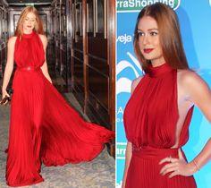 Marina Ruy Barbosa de vestido vermelho - Inspiração para madrinha e convidada de casamento