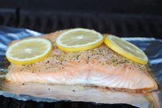 Fit Foodie Finds: lemon pepper salmon