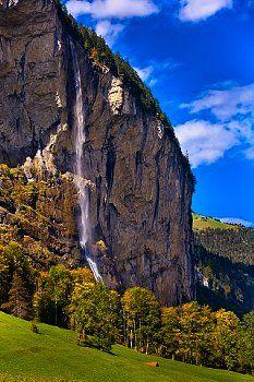 Staubbach Wasserfall Lauterbrunnen