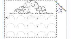Fichas- Grafomotricidad en 4 pasos_007 Worksheets, Cursive Letters, Kids Math, 1st Grades, Learning, Farmhouse, Note Cards, Literacy Centers, Countertops