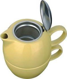 COLE čajová konvička, žlutá