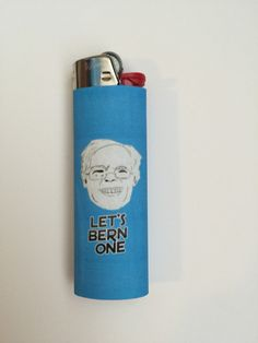 Let's Bern One Lighter by VeraCora on Etsy https://www.etsy.com/listing/269714132/lets-bern-one-lighter