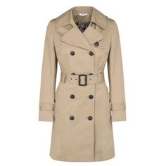 You can always rely on Marks & Spencer to do a classic well and they haven't disappointed with this trench coat. The slight A-line cut mixed with the belted waist provides a very flattering silhouette.