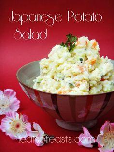 AFF Japan – Japanese Potato Salad | Feats of Feasts | A Food Blog