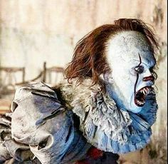 Evil Clowns, Scary Clowns, Creepy, Horror Movie Characters, Horror Films, Scary Movies, Good Movies, House On Haunted Hill, Steven King