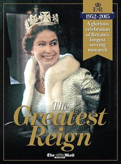 The Greatest Reign is a 76-page ultra-glossy souvenir magazine celebrating the Queen's record-breaking reign. It's packed with more than 200 stunning pictures and unique tributes – and is FREE inside today's Mail on Sunday