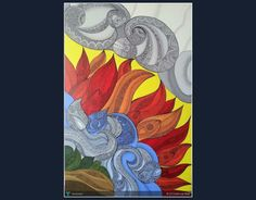 Panchatatva( 5 elements)- Revisited #Creative #Art #Painting @Touchtalent.com