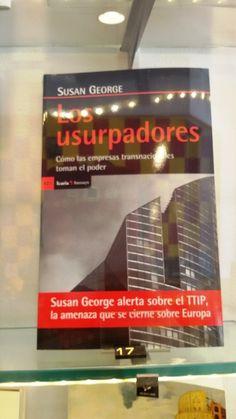 """""""Los usurpadores"""" de Susan George. De Icaria."""