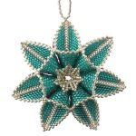 ThreadABead Double Sided Polar Star Ornament Pattern