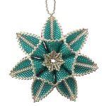 ThreadABead Double Sided Polar Star Ornament Pattern